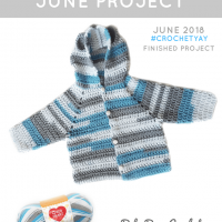 Baby Bear Crochet Hoodie - Free pattern Friday