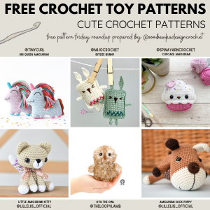 Cute Crochet Patterns Free Pattern Friday #crochet