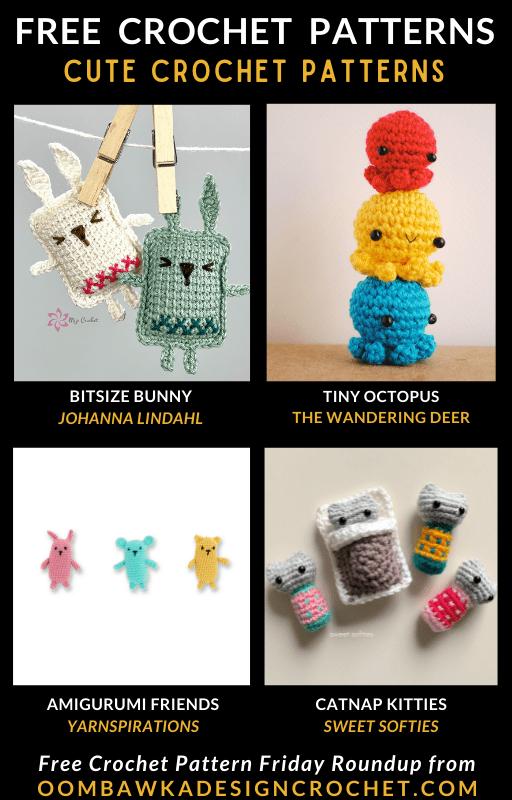 Cute Crochet Patterns Free Pattern Friday