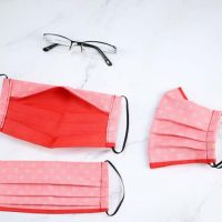 Featured at Wednesday Link Party 400 - Anti-Fog Face Mask for Glasses Wearers