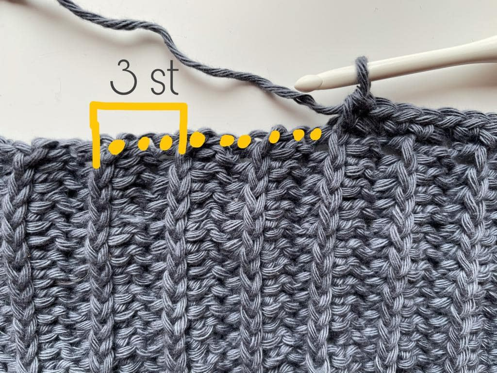 Front Panel - Row 1 - No Name Sweater - TheMailODesign