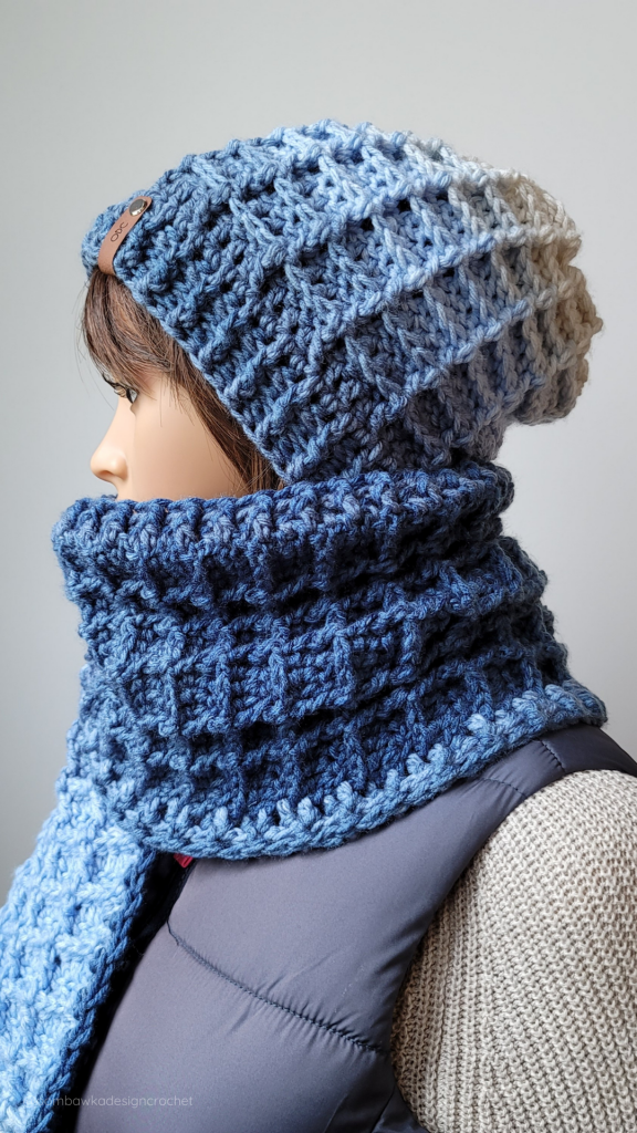 Just Another Day Hat and Scarf Set