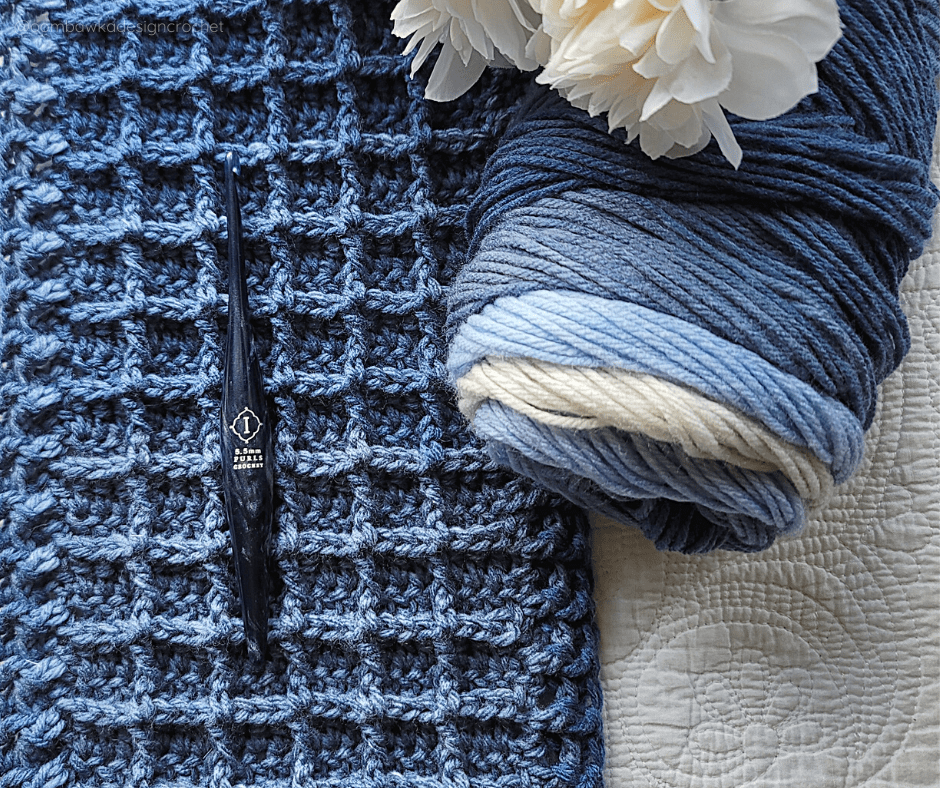 Just Another Day Scarf Pattern - PIN - @oombawkadesigncrochet