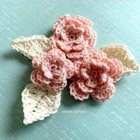 Layered Rose - Free Pattern Friday