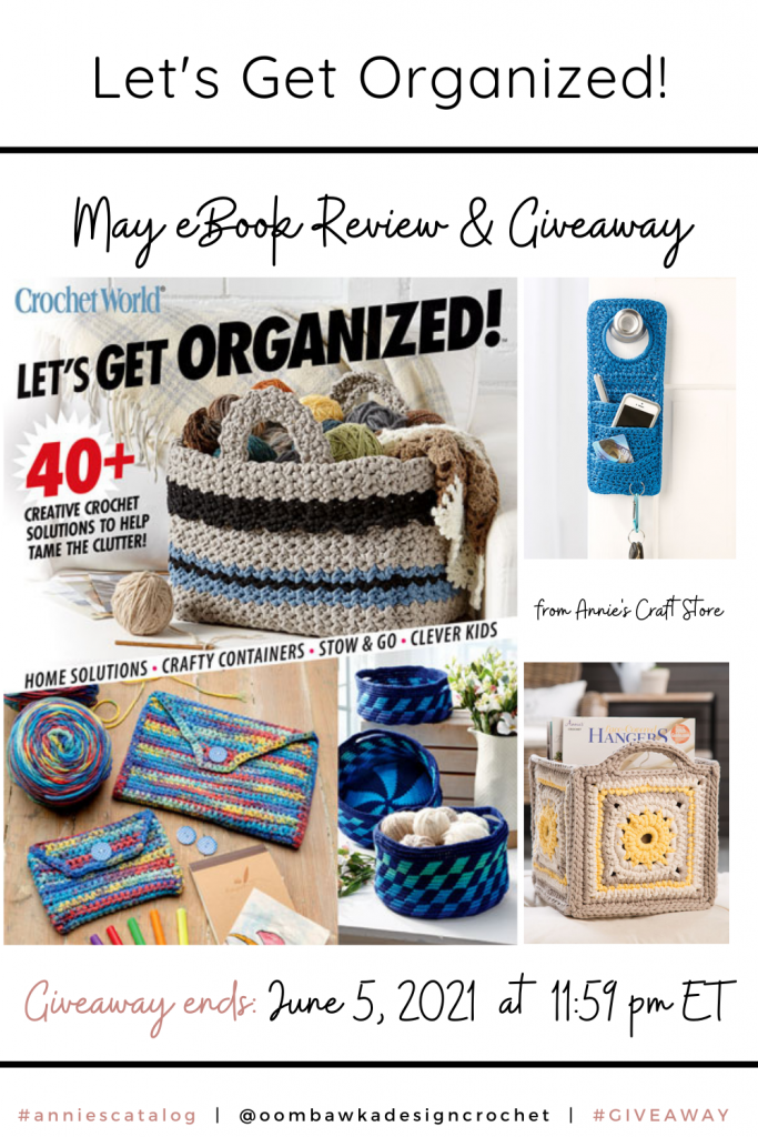 Let's Get Organized - Annie's Review and Giveaway Pinterest