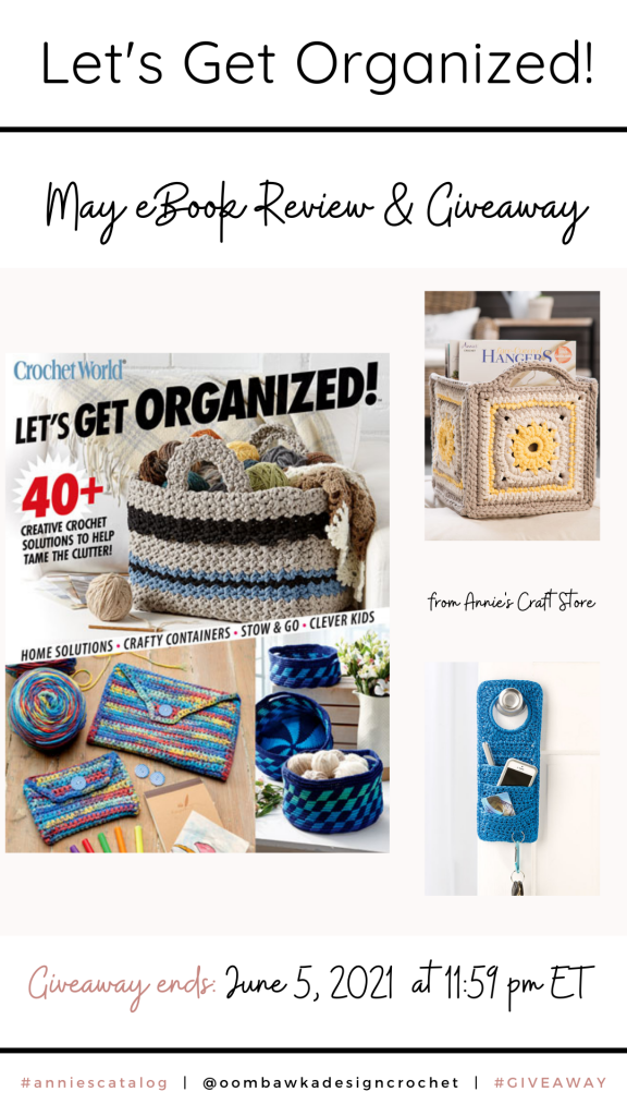 Let's Get Organized - Annie's Review and Giveaway Stories