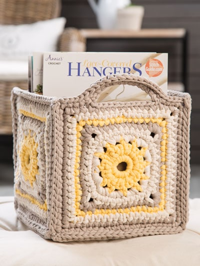 Let's Get Organized Crochet Patterns includes more than 40 practical crochet projects for containers, baskets, bowls and organizers.