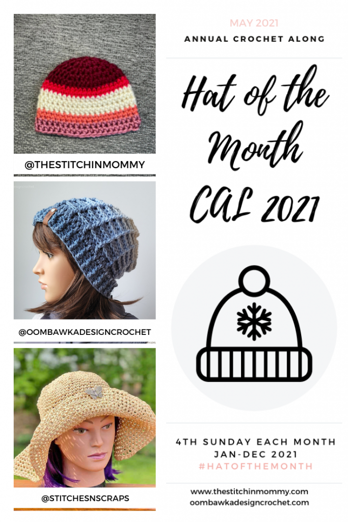 May Hat of the Month CAL 2021