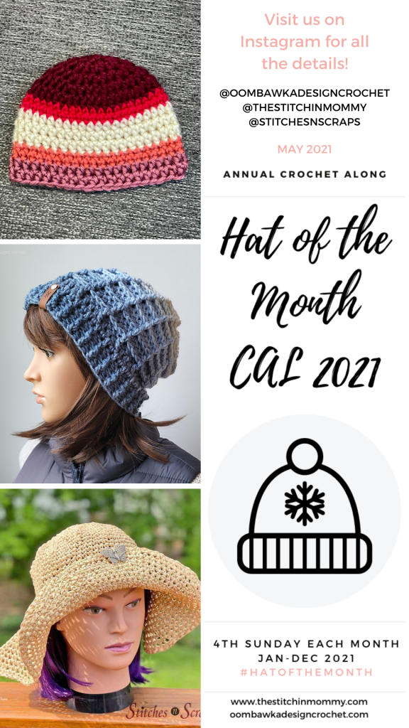 May Hat of the Month CAL 2021 Stories