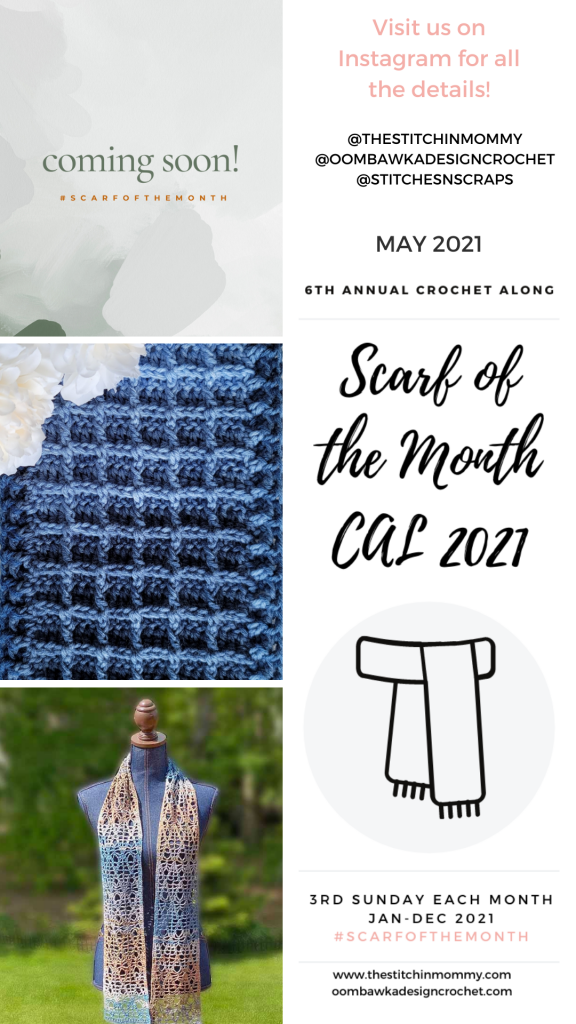 May Scarf of the Month CAL 2021 Stories