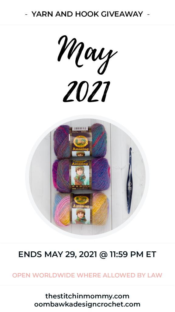 May Yarn and Hook Giveaway