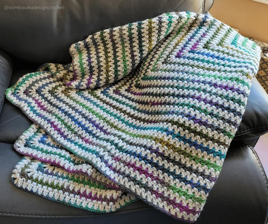 My Favorite Blanket Pattern - May FB- @oombawkadesigncrochet
