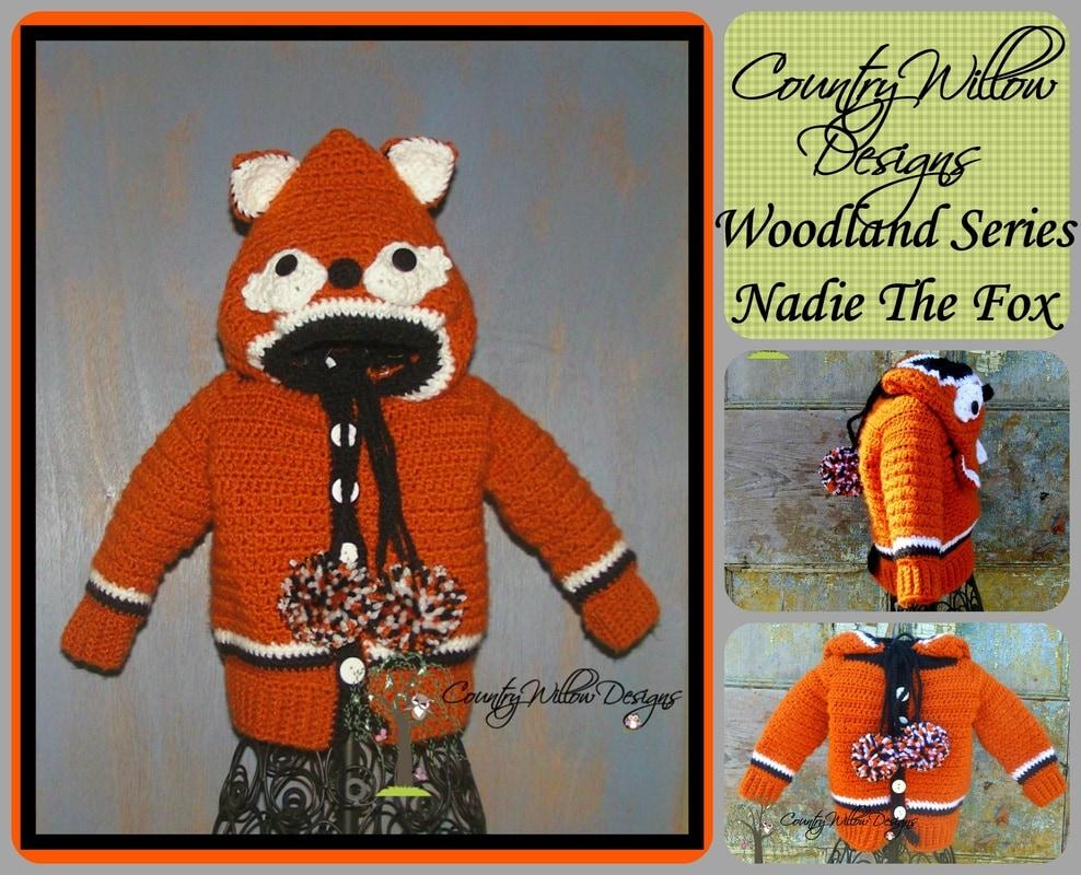 Nadie the Fox Cardigan - Free Pattern Friday