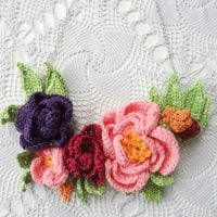 Peony Necklace - Link Party 398