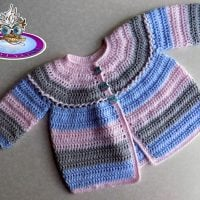 Quick and Easy Baby Cardigan - Free Pattern Friday
