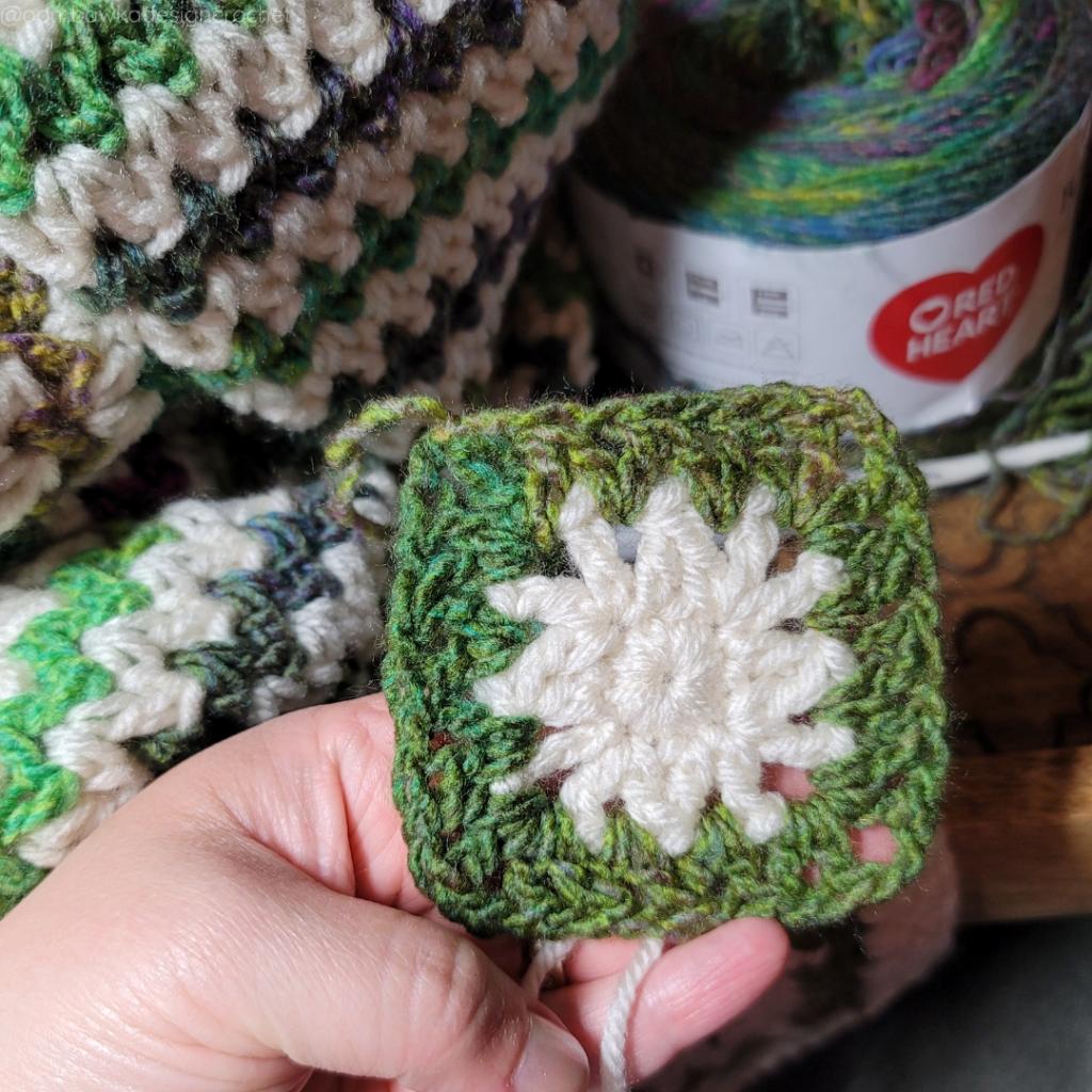 R3e My Favorite Crochet Blanket Pattern - @oombawkadesigncrochet