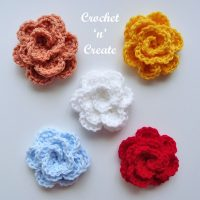 Rose Applique - Free pattern Friday