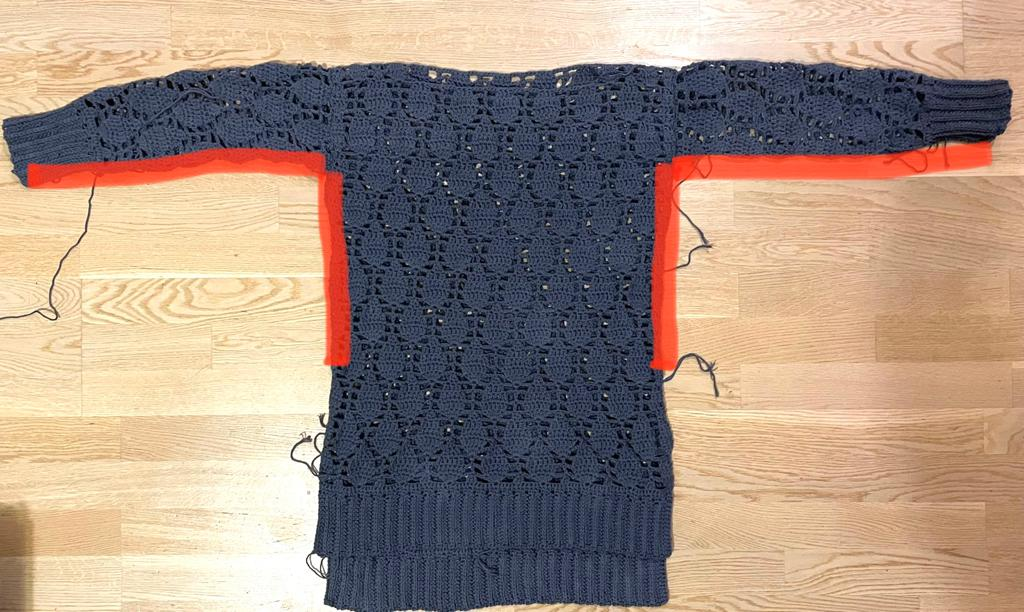 Seaming - No Name Sweater