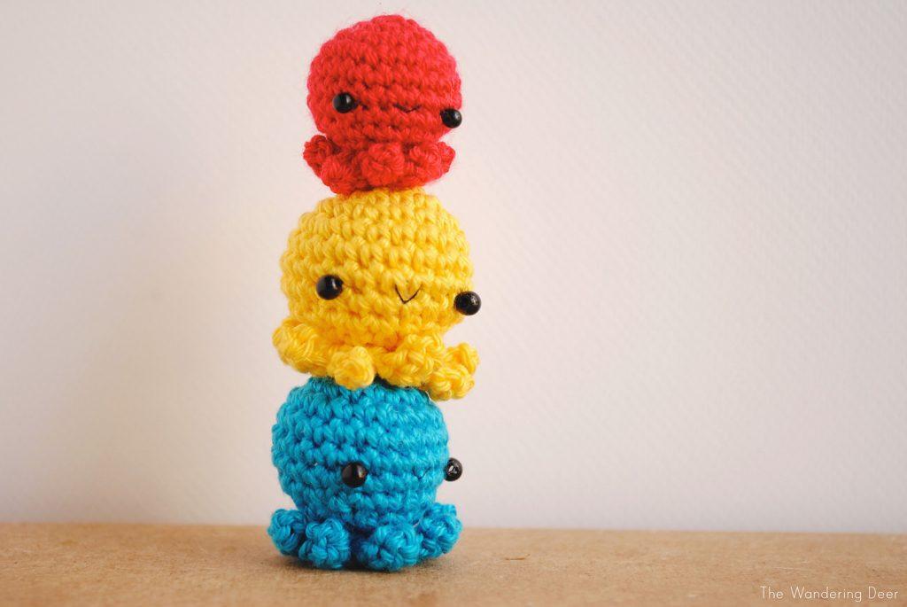 Tiny Octopus - Free Pattern Friday