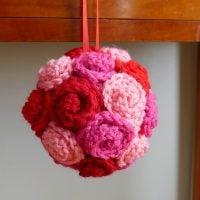 Valentine Rose Ball - Free Pattern Friday