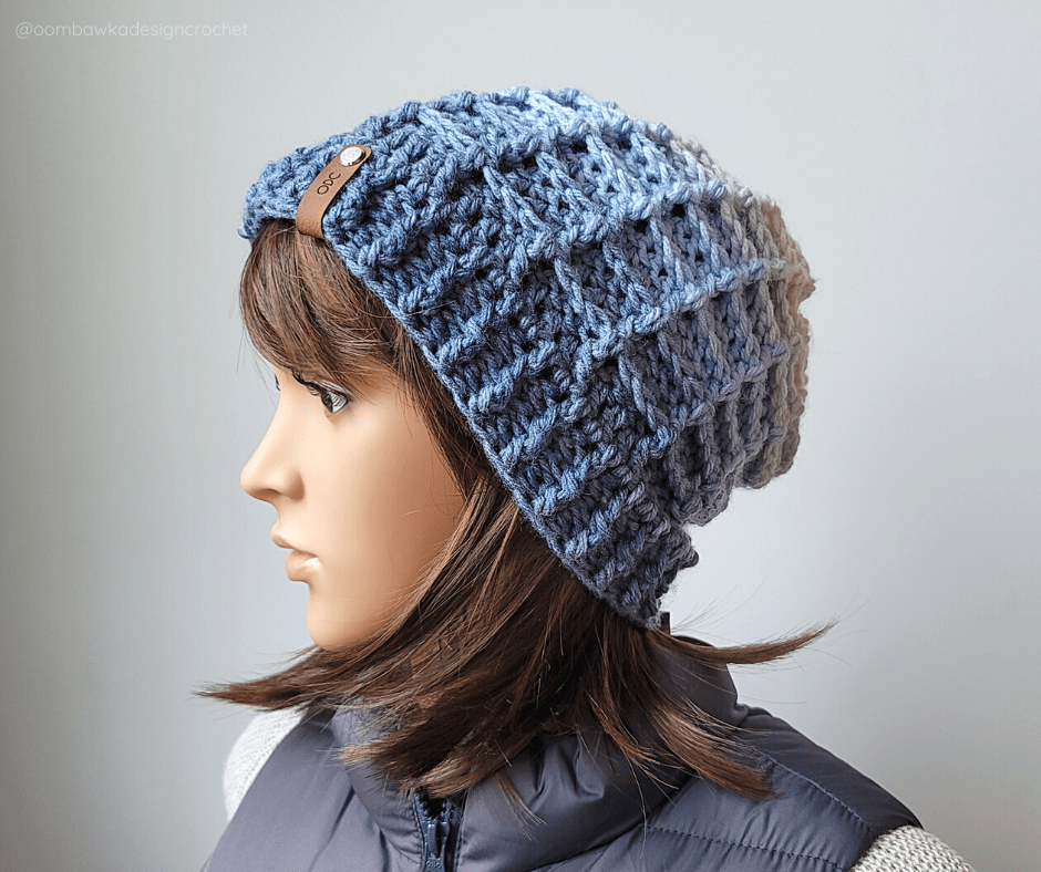 Waffle Stitch Hat - May FB Just Another Day Hat