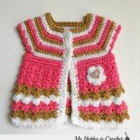 baby cardigan 0-3 mths - Free Pattern Friday