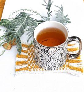 Tea Spa Mug Rug Pattern - Guest Design Olga Vogel