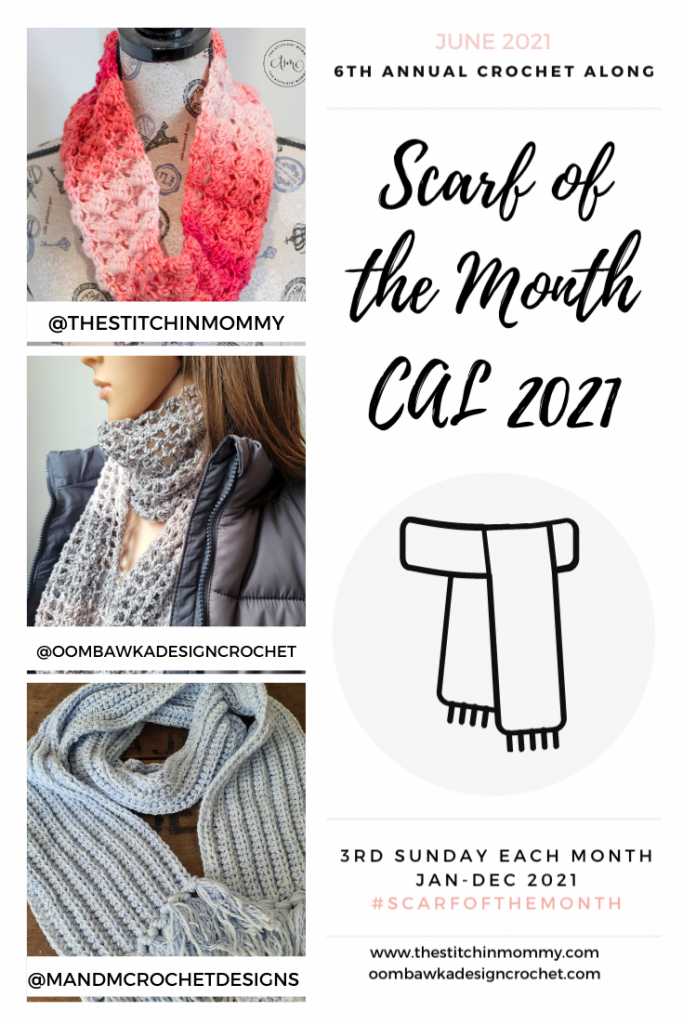 2021 June Scarf of the Month CAL