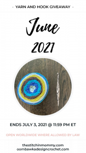 2021 June Yarn and Hook Giveaway PIN