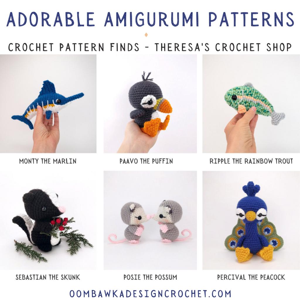 Adorable Amigurumi Patterns - Crochet Pattern Finds instagram