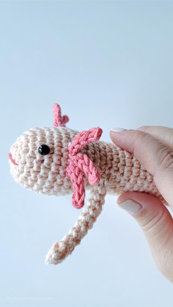 Amigurumi Axolotl Oombawka Crochet Design