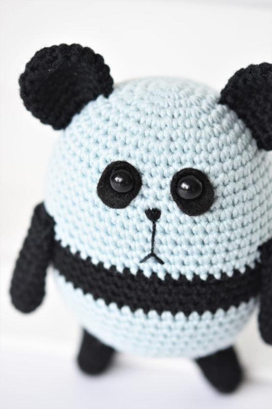Amigurumi Panda - FreePatternFriday