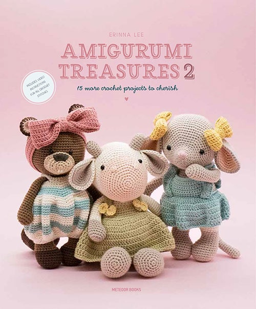 Amigurumi Treasures 2 Cover Image Meteoor Books