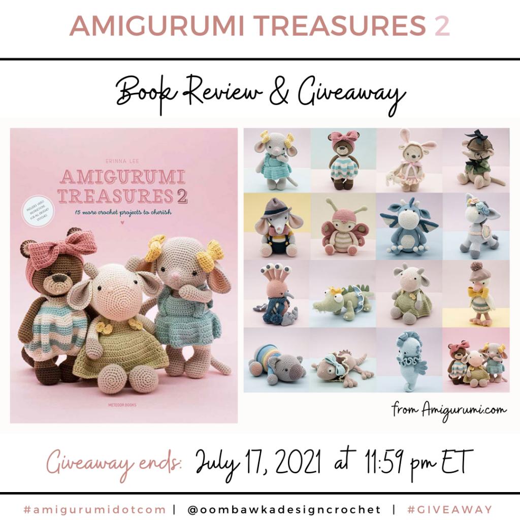 Amigurumi Treasures 2 Review and Giveaway Instagram