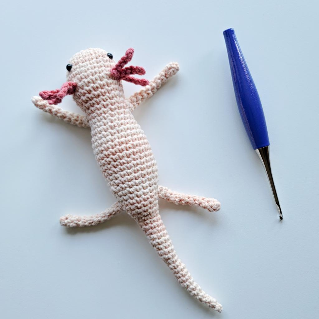 Axolotl Crochet Pattern ODC