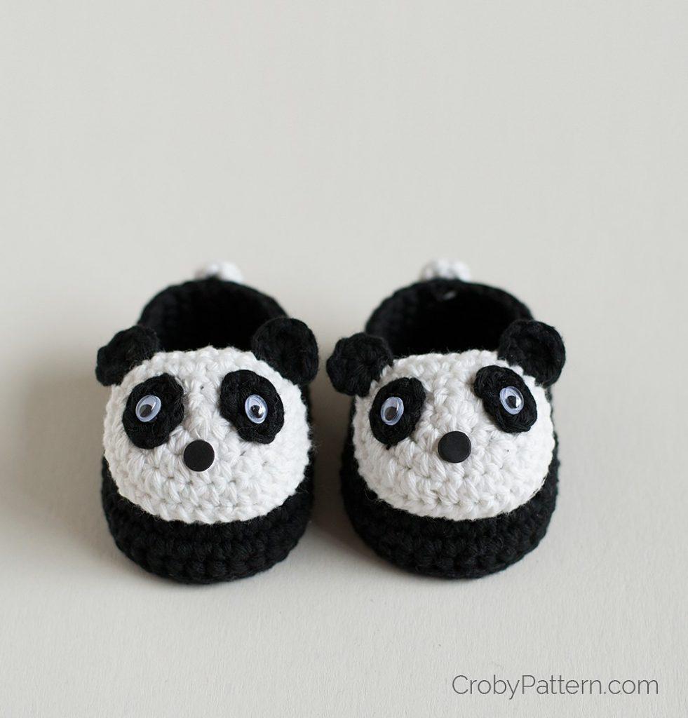 Baby Panda Booties - Free Pattern Friday