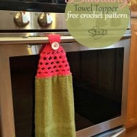 Bounding-Towel-Topper-Free-Crochet-Pattern - Free Pattern Friday