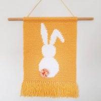 Bunny Wall Hanging - Free Pattern Friday