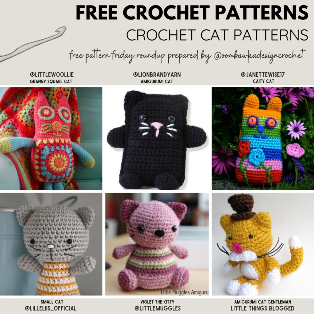 Crochet Cat Free Crochet Patterns