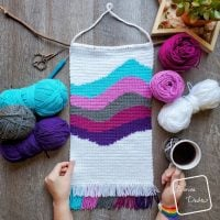 Cool Waves Wall Hanging - Free Pattern Friday
