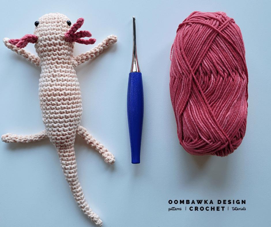 Crochet Axolotl Pattern Oombawka Design Crochet 2021