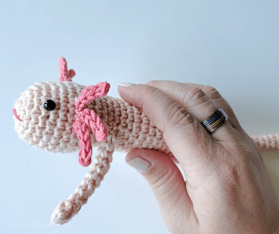 Crochet Axolotl Pattern Oombawka Design Crochet