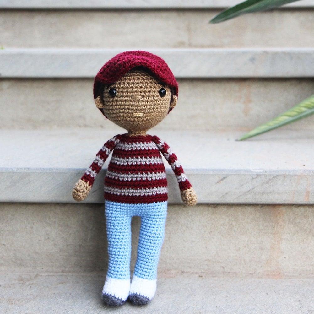 Crochet Boy Doll - Link Party 403