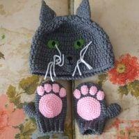 Crochet Cat Winter Wear - Free Pattern Friday