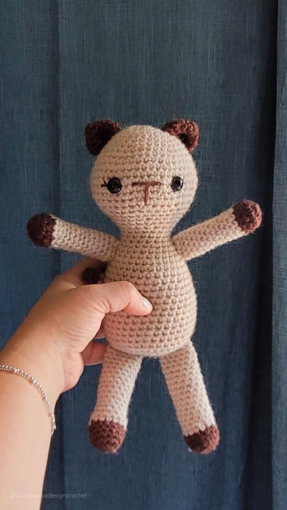 Crochet Kitten Pattern ODC