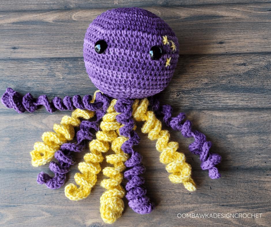 Crochet Octopus Pattern