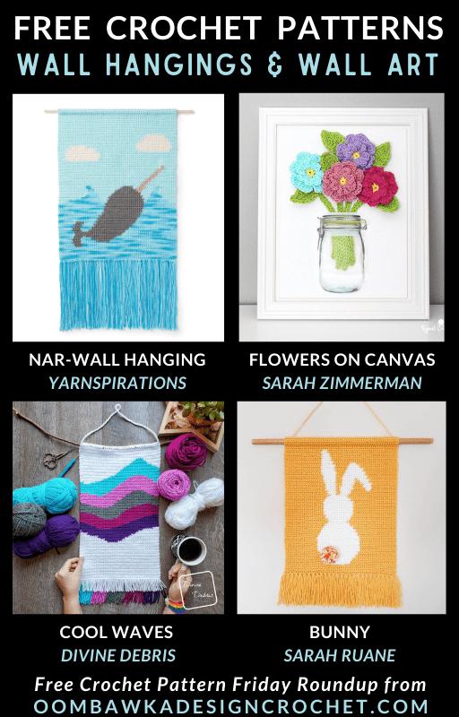 Crochet Wall Hangings Free Pattern Friday
