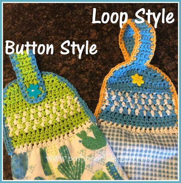 Dish Towel Topper - Free Pattern Friday