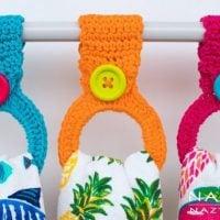 Hanging Ring Towel Topper - Free Pattern Friday