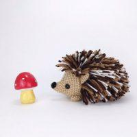 Heath the Hedgehog - Theresa's Crochet Shop